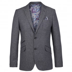 guide london diamond jacquard jacket