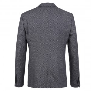 mens diamond jacquard jacket