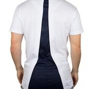 Sik-Silk-Mens-Debossed-Filegree-Racer-Logo-Curved-Hem-T-Shirt-White-0-1