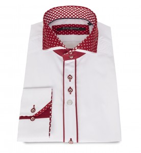 guide double collar shirt